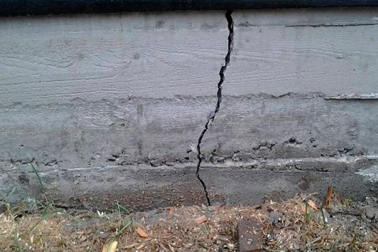 Трещины в фундаменте - самый эффективный метод восстановления за 1 день.