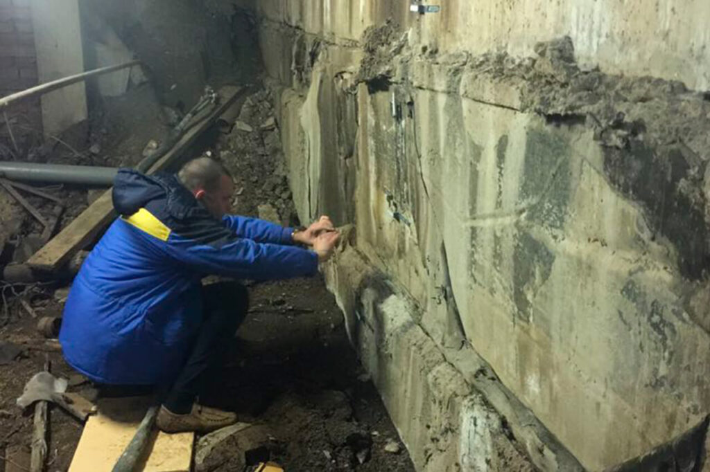 Усиление слабых грунтов под складскими помещениями
